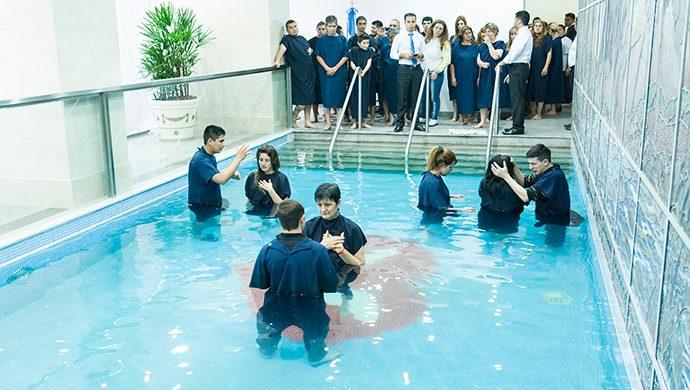 ¿Por qué bautizarse?