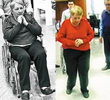 """""""Estaba atada a una silla de ruedas, ahora puedo caminar"""""""
