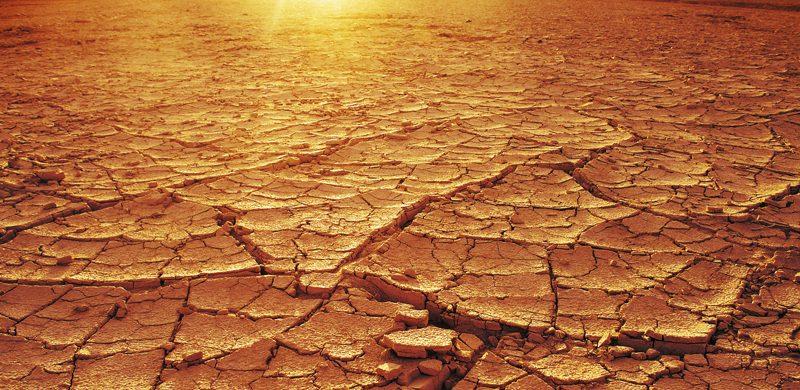¿Por qué había una gran sequía en Israel?