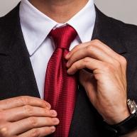 La corbata correcta