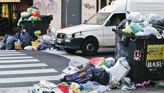 Paros, protestas y caos en la ciudad