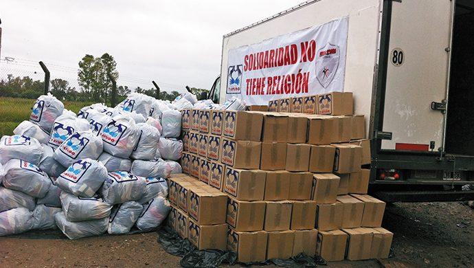 T-Ayudo sigue trabajando por los inundados