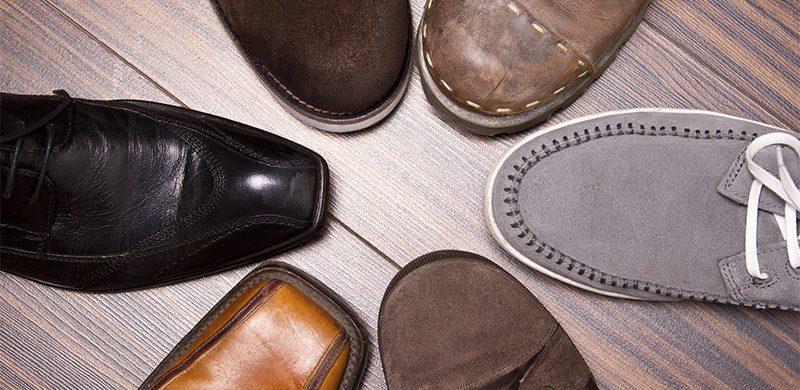 Zapatos correctos, pie saludable