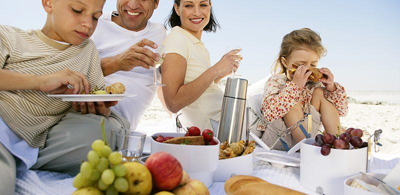 La alimentación de los niños en las vacaciones