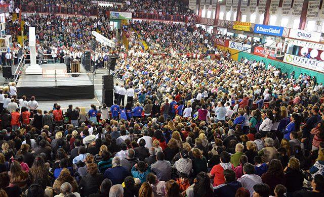 Córdoba: casi 6000 personas en una concentración de fe