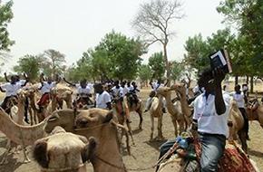 Evangelización en camello