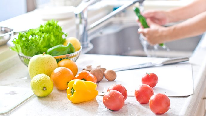 Líbrese de los agro tóxicos de las frutas y verduras
