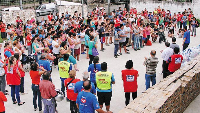 La ayuda llegó a los inundados en Córdoba