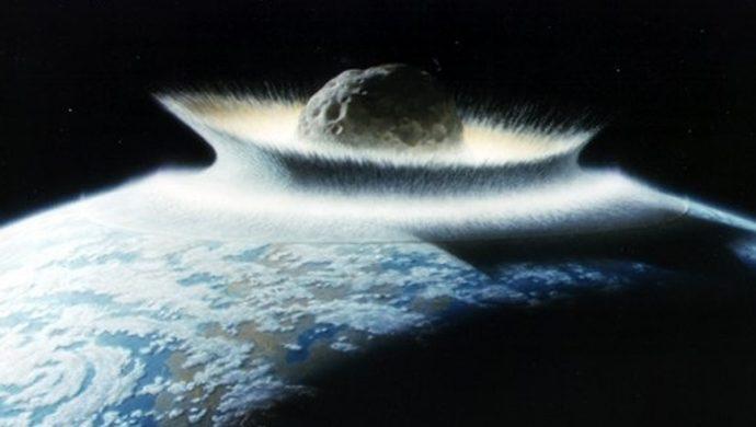 La tierra en la mira de un asteroide