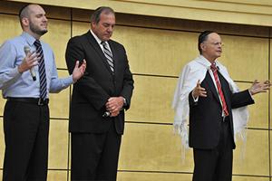 El Rabino Eickstein visita el Templo de Salomón