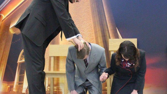 Pastor ruso es consagrado