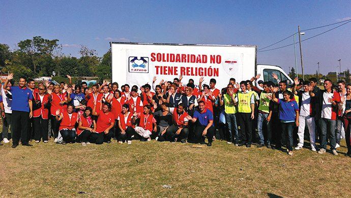 T-Ayudo al rescate de los necesitados en Merlo