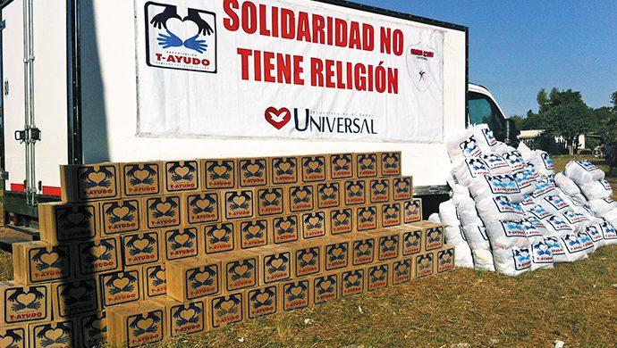 T-Ayudo responde al llamado solidario