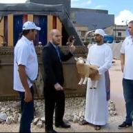Equipo de básquet israelí visita el Templo de Salomón