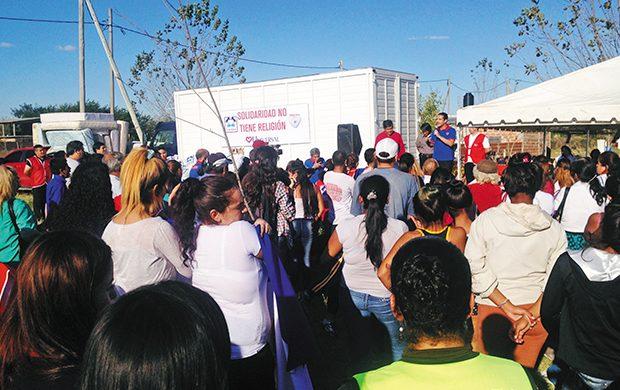 Abril súpersolidario: 14 toneladas de alimentos y 17 200 prendas de ropa