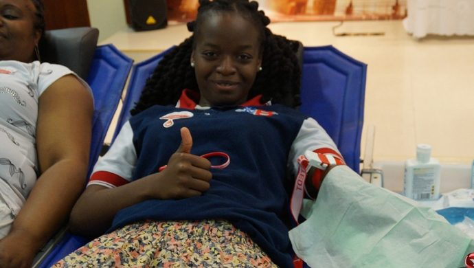 """La primera """"Gran donación de Sangre"""" en Bélgica"""