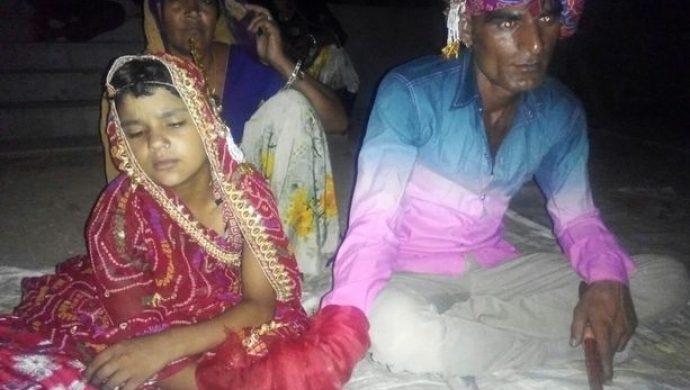 Niña de seis años se casa con un hombre de 35 años en la India