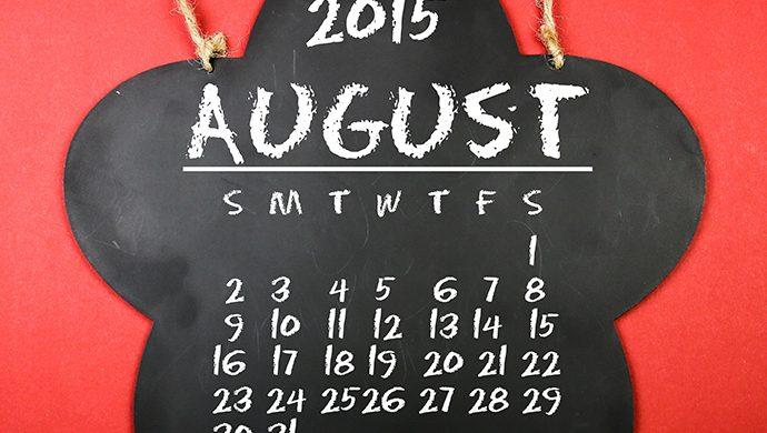 ¿Agosto es el mes de la superstición?