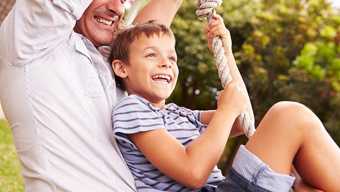 ¿Qué recuerdos está imprimiendo en la memoria de su hijo?