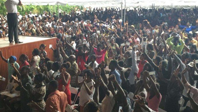 Lo que la Universal hizo en Haití