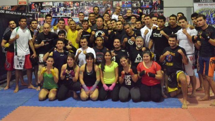 Wanderlei Silva y la Fuerza Joven de Paraguay en la lucha contra las drogas