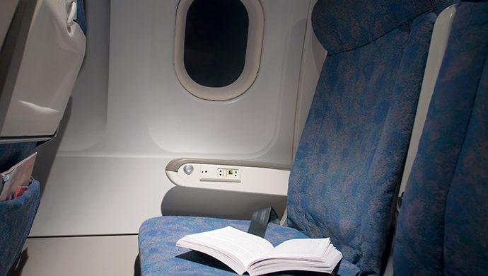 La Palabra de Dios olvidada a bordo de un avión