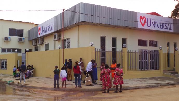 Inauguración pone a Angola en movimiento