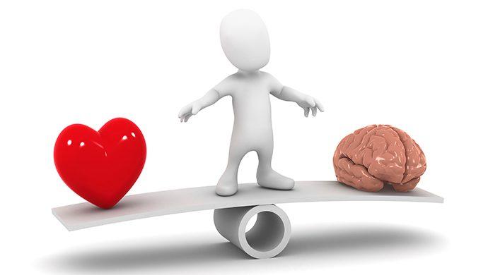 La diferencia entre el amor racional y el emocional