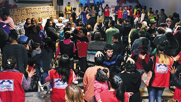 T-Ayudo entregó 1,5 toneladas de alimentos en Moreno
