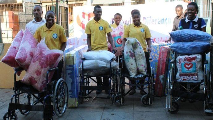 «Haciendo la Diferencia» en la vida de las personas que usan sillas de ruedas en Mozambique