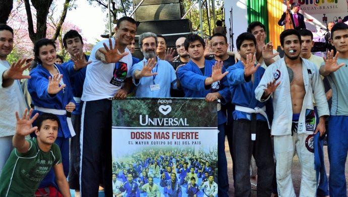 Jiu-jitsu contra las drogas en Paraguay