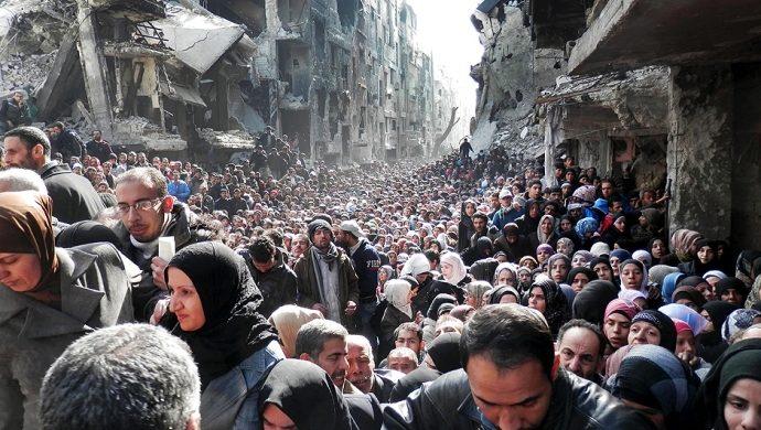 Vea las imágenes que ilustran el terror vivido por los refugiados sirios