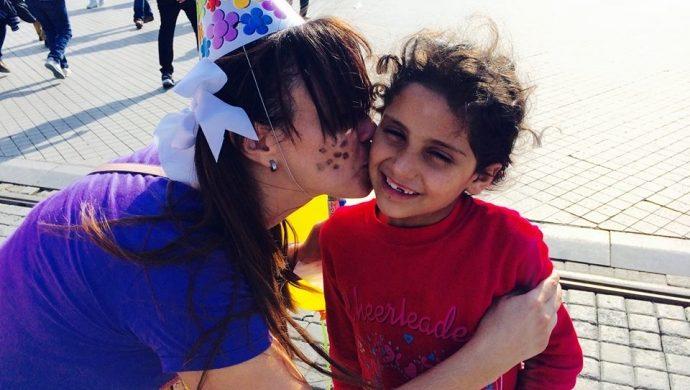 La Universal ayuda a niños sirios