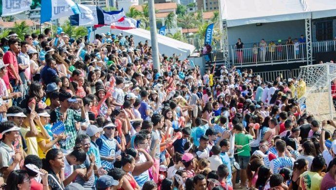 «Futshow» anima a los jóvenes en Fortaleza