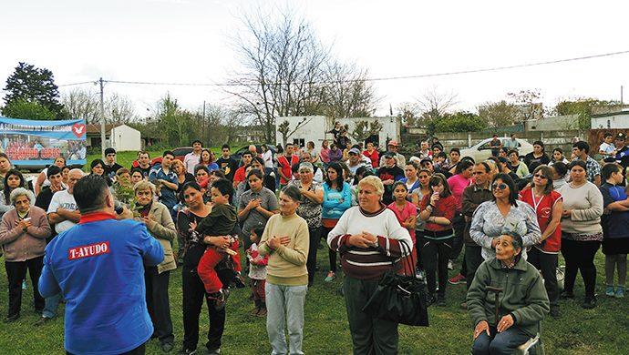 T-Ayudo llegó a Gral. Belgrano, donde entregó una tonelada de alimentos y casi 2000 prendas de ropa