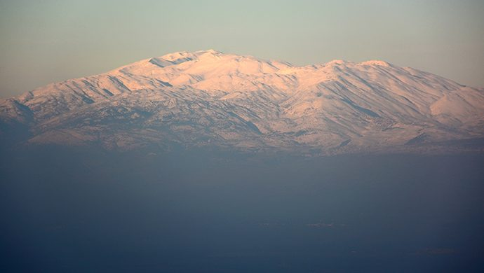 ¿Por qué el Monte Hermón?