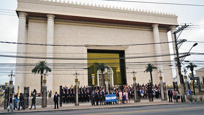 Argentina en el Templo de Salomón