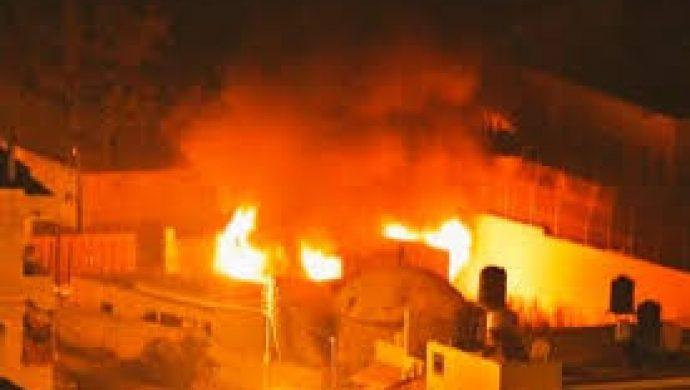 Palestinos incendian templo que abriga túmulo de José de Egipto