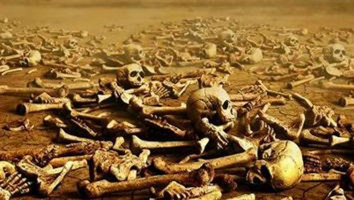 "¿Usted es espíritu o ""huesos secos""?"