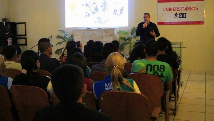 Primera reunión del proyecto Universitarios FJU en el estado de Rondonia
