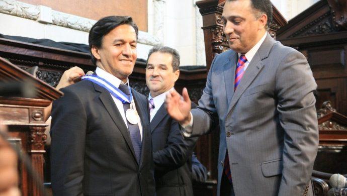El líder de la FJU es homenajeado en la Asamblea Legislativa de Río de Janeiro