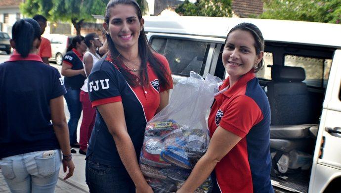 La FJU lleva donaciones al hospital Psiquiátrico de Río de Janeiro