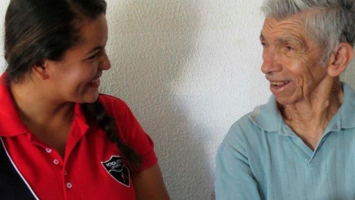 Momentos de alegría para los ancianos de Mato Grosso del Sul