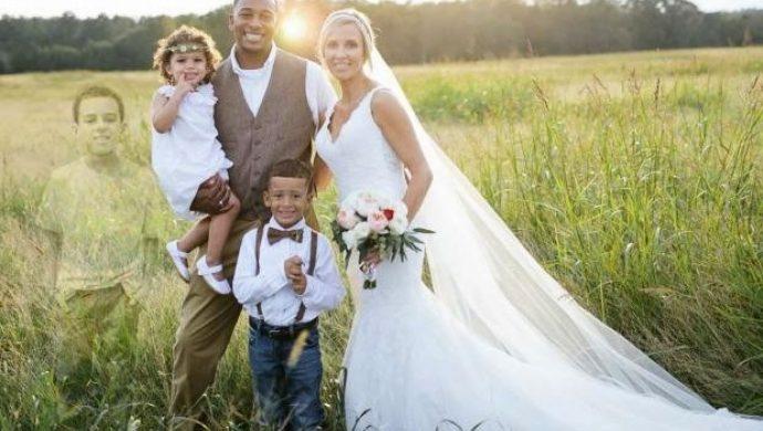Una madre le pide a la fotógrafa incluir la foto del hijo muerto en el álbum de casamiento