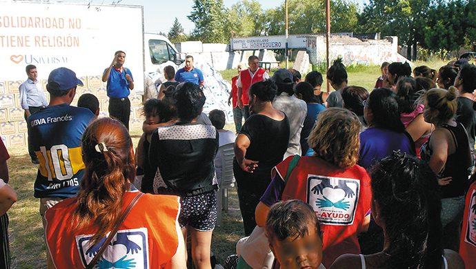 En Solano, la solidaridad no se detiene: 1 tonelada de alimentos y 1700 prendas