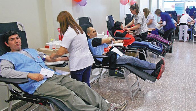 Más vidas salvadas a través de la donación de sangre