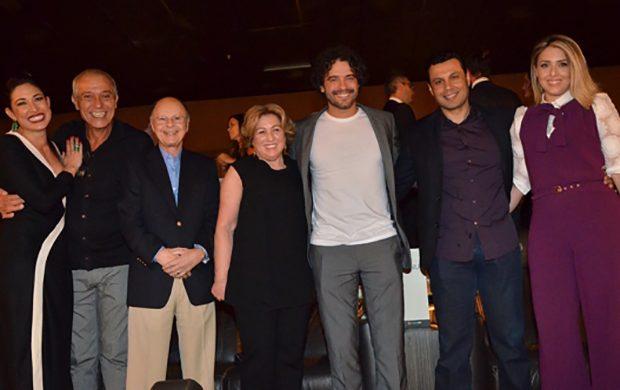 """Pre estreno de """"Los Diez Mandamientos"""" – La película"""" reúne al elenco y a famosos en San Pablo"""