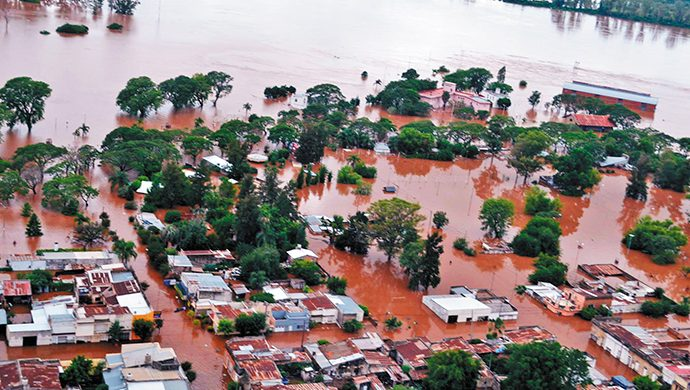 Operativo inundados