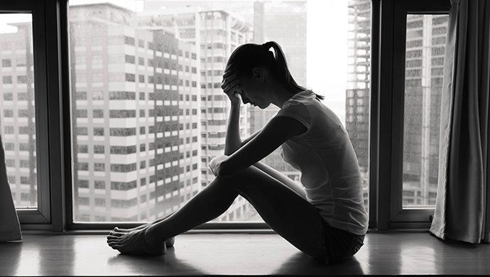 """""""Me había entregado a la depresión"""""""