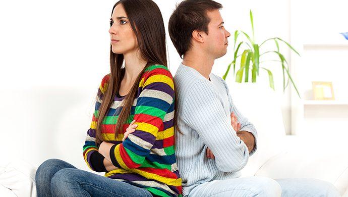 Cuando el problema de la pareja se hace público